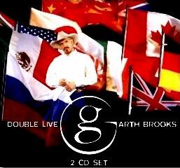 Double Live CD Garth Brooks 16 novembre 1998