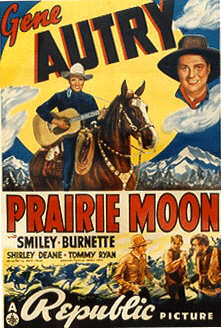 Gene Autry Prairie Moon