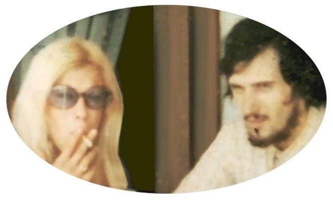 Monique et Pierre en 1970, Harley-Davidson on the road to Caen