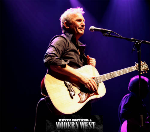 Kevin Costner & Modern West à La Cigale à Paris