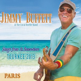 Jimmy Buffet Paris 2013