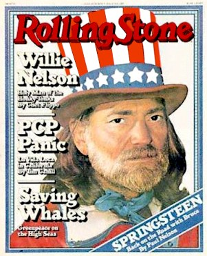 1978 Rolling Stones Willie Nelson by Chet Flippo