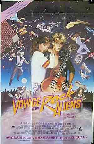 Jimmy Haddox film Voyage Rock Aliens 1984