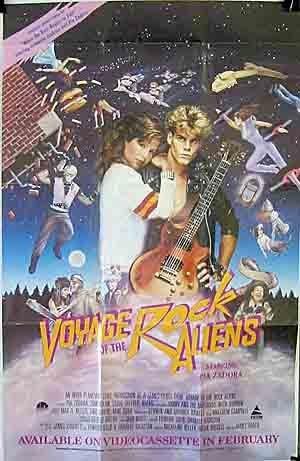 Jimmy Haddox film Voyage Rock Aliens 1984